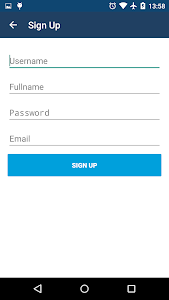 Android Authentication System screenshot 1