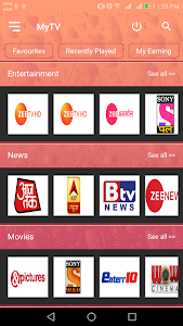 MyTV - Live Indian TV 1 8 + (AdFree) APK for Android