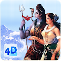 4D Shiv Parvati Live Wallpaper icon