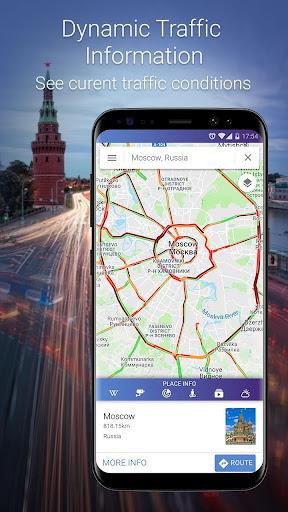 Maps, GPS Navigation & Directions, Street View screenshot