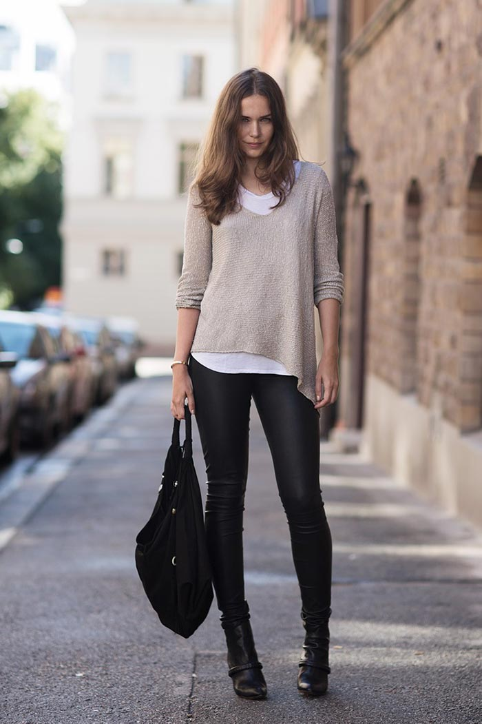 Leggings can be styled well to suit any situation