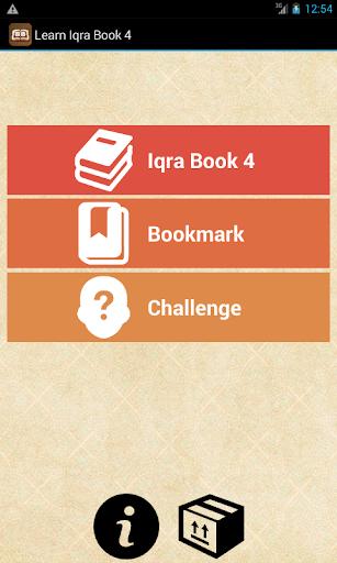 Learn Iqra Book 4
