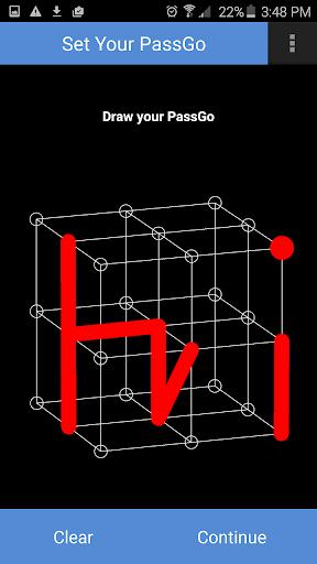 3D囲碁パスワード画面ロック(簡易版)