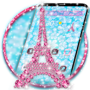Pink Diamond Eiffel Tower Theme