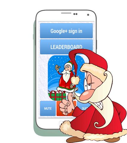 android Santa Christmas Run Screenshot 0