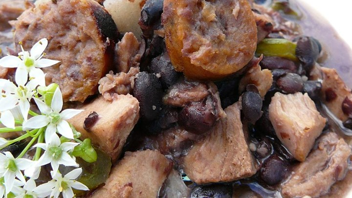 Pork and Black Bean Stew Recipe