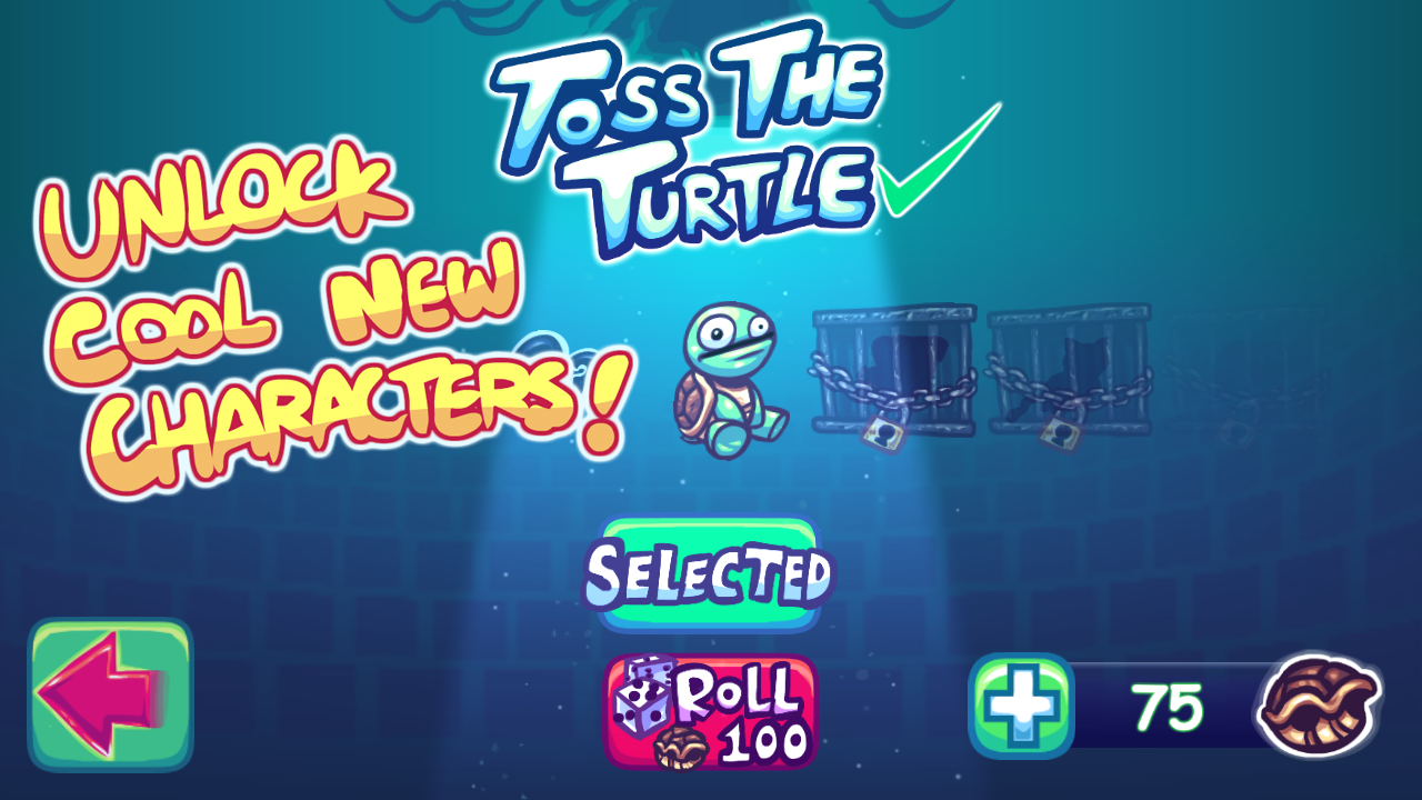 Suрer Toss The Turtle- screenshot