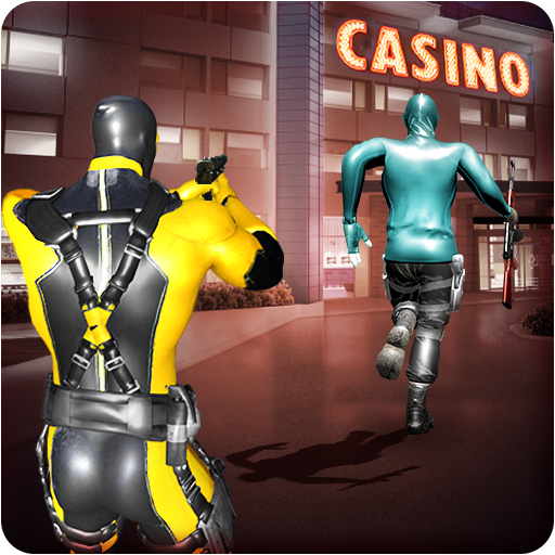 Superhero Casino Battle: Vegas Mafia Gangster War
