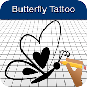 How to Draw Butterfly Tattoos