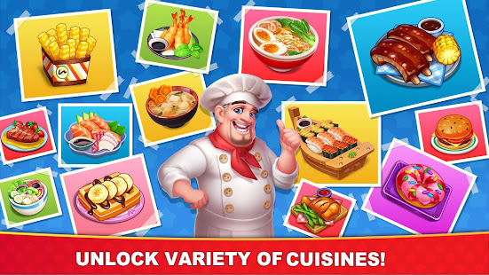 Cooking Hot - Crazy Chef Cooking Craze in Kitchen v1.0 APK Full