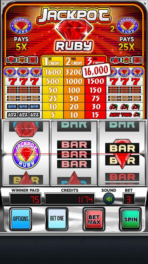 Sound of a slot machine jackpot