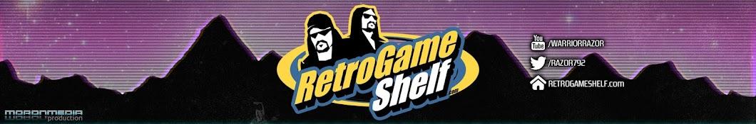 Razor's Retro Game Shelf Banner