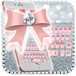 Pink Diamond bow Keyboard Icon