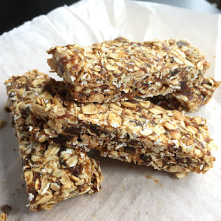 Simple Nutty Granola Bars.