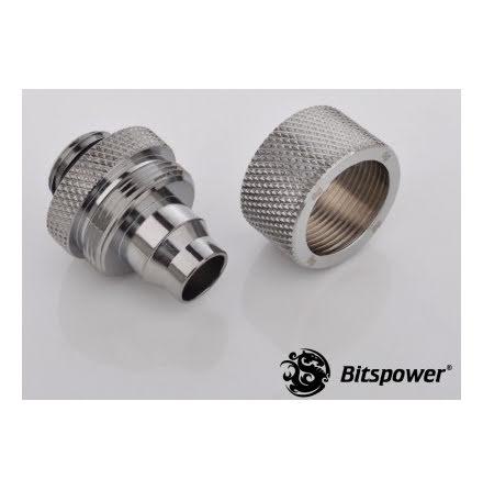 """Bitspower kompresjonsnippel, 1/4""""BSPx3/8""""ID-5/8""""OD"""