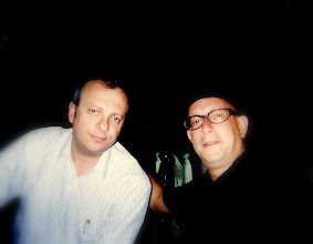 Photo: A 'Sopranos' moment with Mr C. Not too long ago.