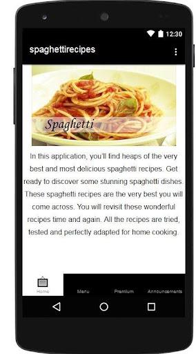 免費下載遊戲APP|Spaghetti Recipes app開箱文|APP開箱王