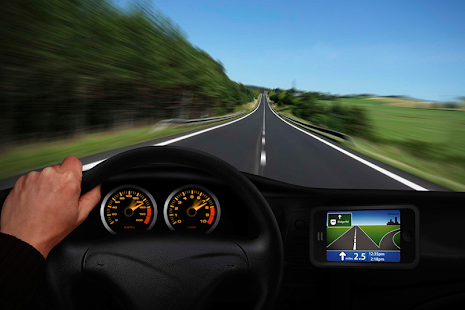 GPS Navigation with Speedometer - náhled