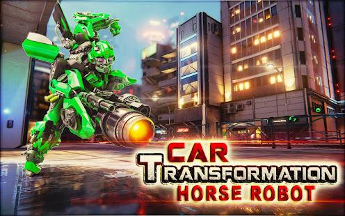 car transformation horse robot robot car games apps on google play