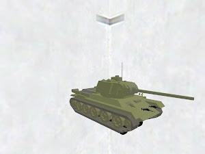 T-34-85 黒軍改造番