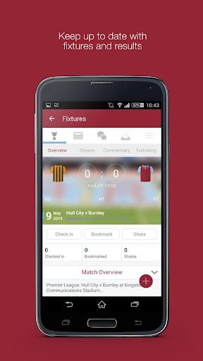 Fan App for Burnley FC