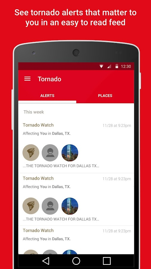 Tornado - American Red Cross- screenshot