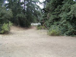 Photo: This is Mayberry holy ground. Andy and Opie walked right down this path and headed to the fishin' hole.