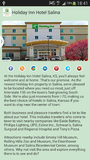 Holiday Inn Salina KS Hotel