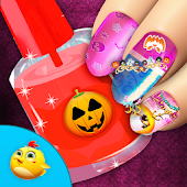 Halloween Nail Salon