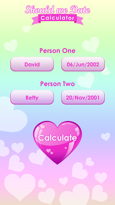 Should we Date Calculator - screenshot