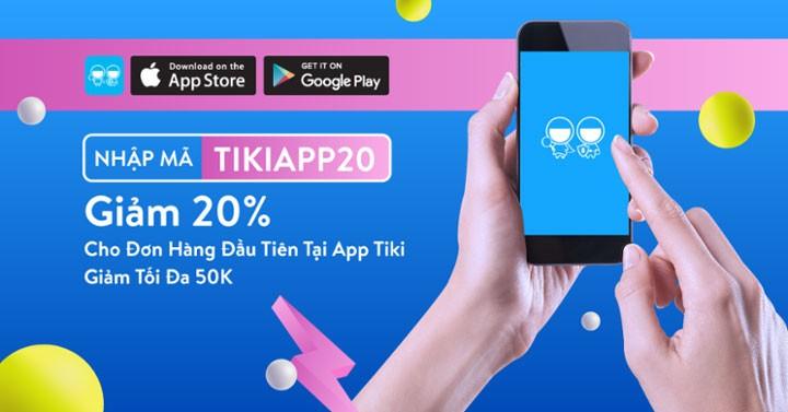 Mã giảm giá Tiki App là loại mã đặc biệt chỉ sử dụng tại các bước thanh toán ở ứng dụng Tiki