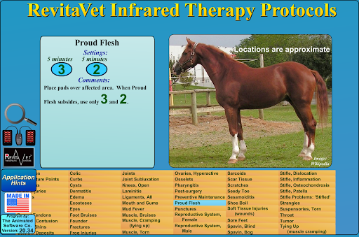 RevitaVet Infrared Therapy 20.60 screenshots 12