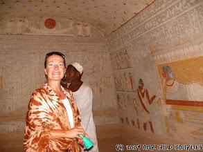 Photo: Šokovaná Andrea v El Kuru hrobce / El Kuru tumb - shocked Andrea