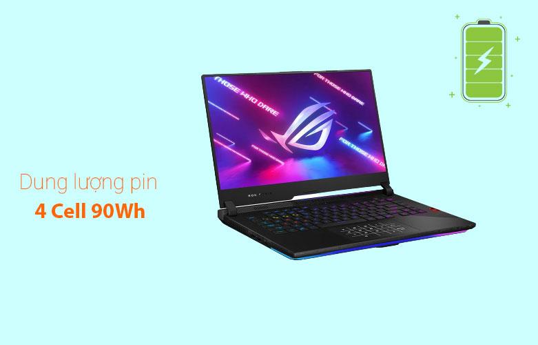 Laptop Asus ROG Strix Scar 15 G533QM-HF089T | Dung lương Pin cao
