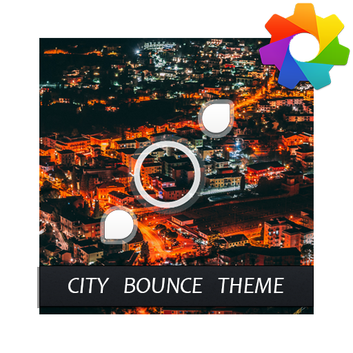 City Bounce Theme For Xperia