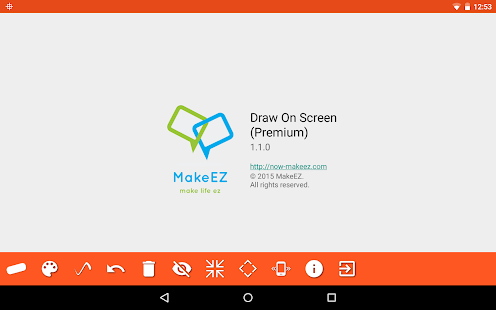 Draw on screen Screenshot