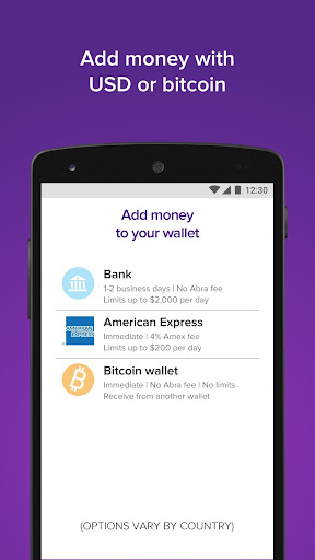 Download Abra: Bitcoin, XRP, LTC MOD APK 3