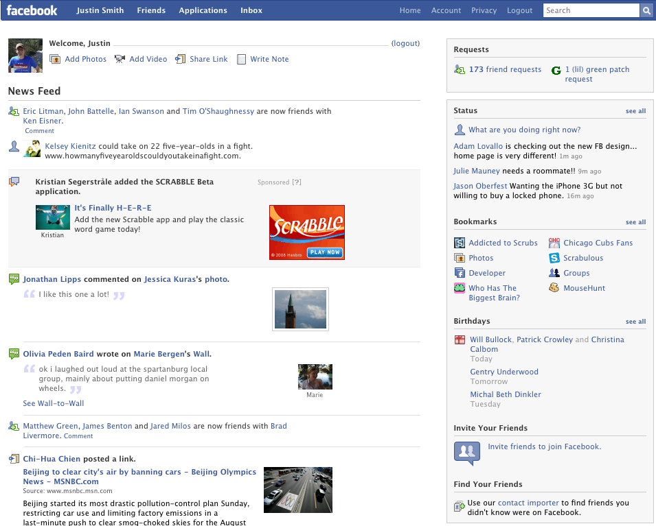 How Facebook S Design Has Changed Over The Last 10 Years The Daily Dot