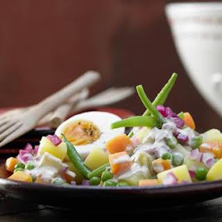 Spicy Vegetable Salad.