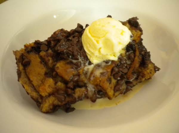 Rich & Thick Cocoa Bread Pudding Recipe