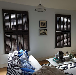 Front room Window Plantation shutters