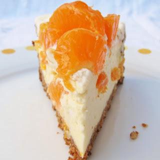 Tart Mandarin Orange Cheesecake.