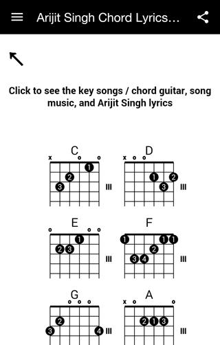 Download Arijit Singh Chord Lyrics Mp3 Google Play softwares ...