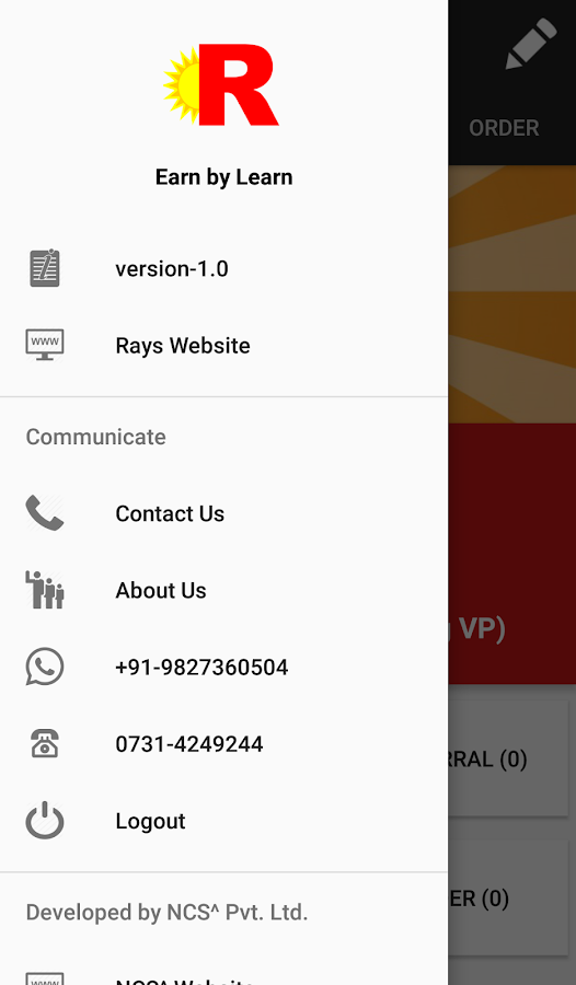 MyRays- screenshot