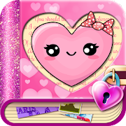 Love Diary with Safe Lock