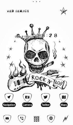 Skull Wallpaper Rock 'n Roll 1.0.0 Windows u7528 1