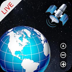 GPS Earth Maps LIVE: GPS Map Camera & Weather LIVE