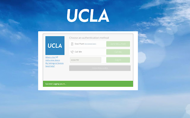 AutoAuth for UCLA