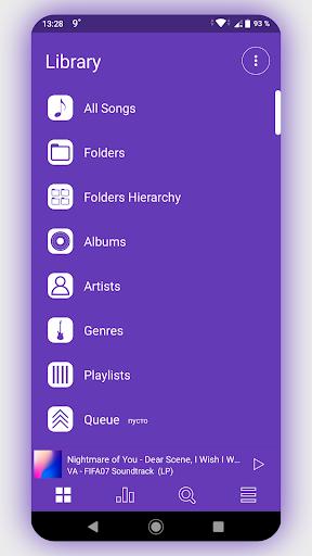 Download Enfold - Color Poweramp v3 Skin For PC 2