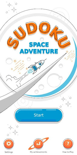 Sudoku Space Adventure - Puzzle Game android2mod screenshots 1